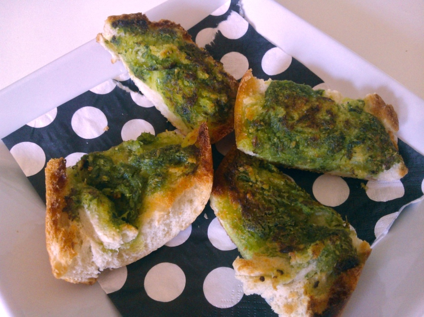Asian Chive and Candlenut Pesto