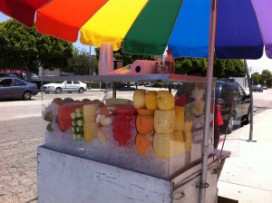 Fruit Cup Vendor
