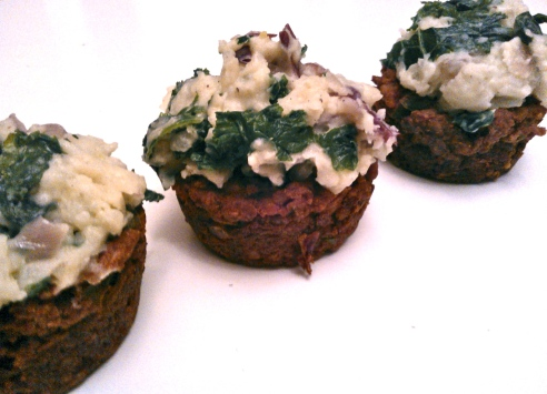 Meat-less Meatloaf Muffins