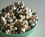 Parmesan and Kale Dusted Popcorn