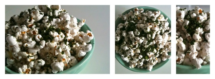 Parmesan & Kale Dusted Popcorn