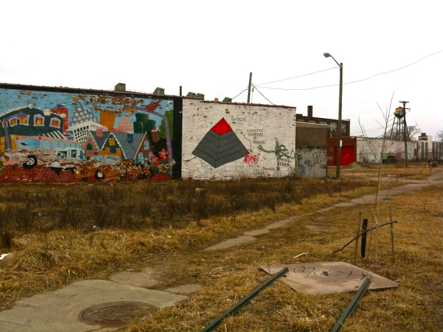 48 hours in Detroit, a beautiful decay