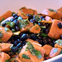 Black Beans/Sweet Potatoes