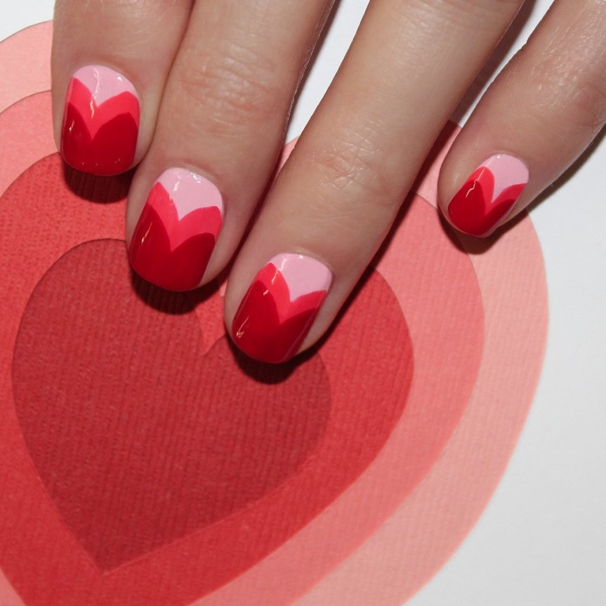 16 Valentine's Day Nail Art Designs You'll Heart