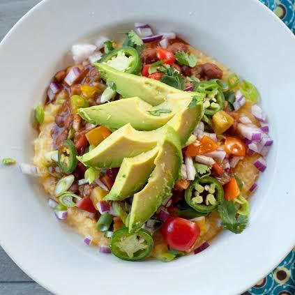 Polenta Mexican Bowl