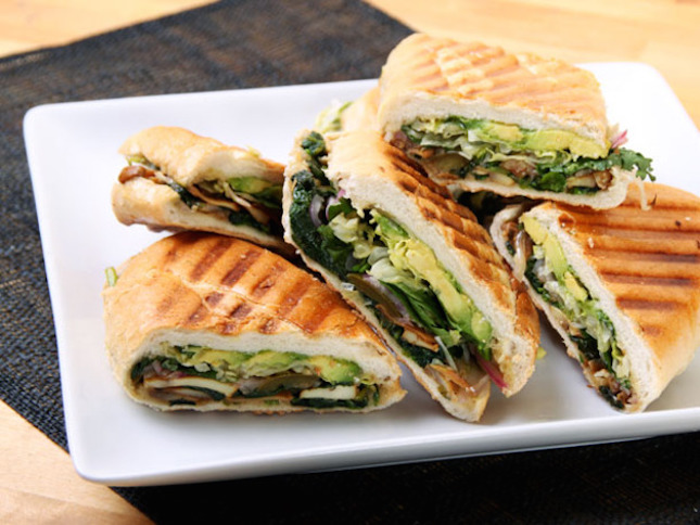 Mexican Mushroom and Spinach Torta