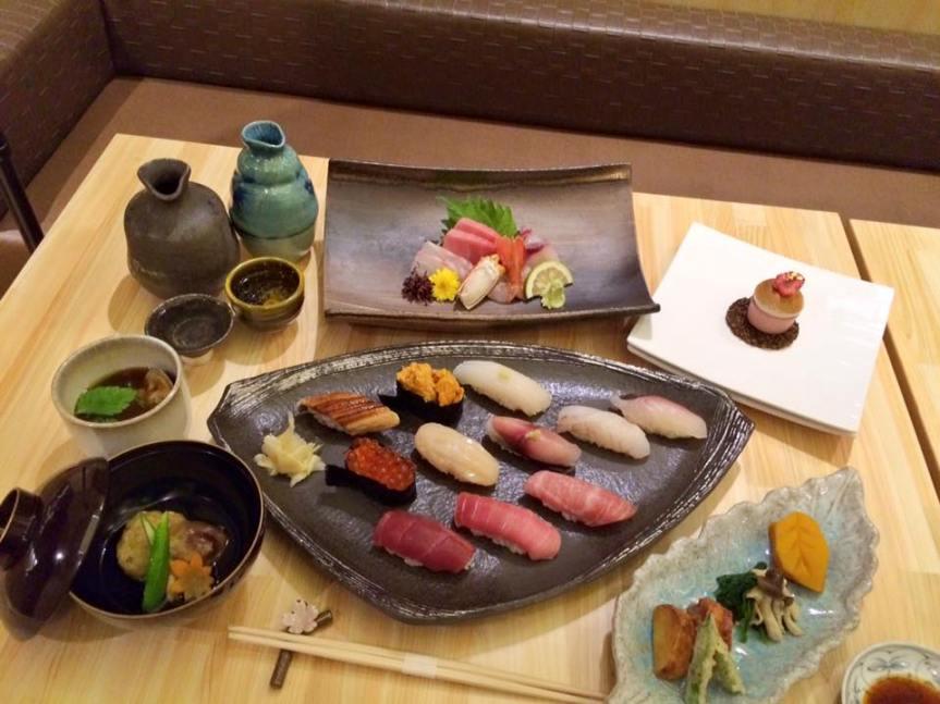 Shoushin Omakase Tasting B Menu