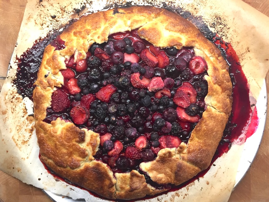 Rustic Mixed Berry Galette