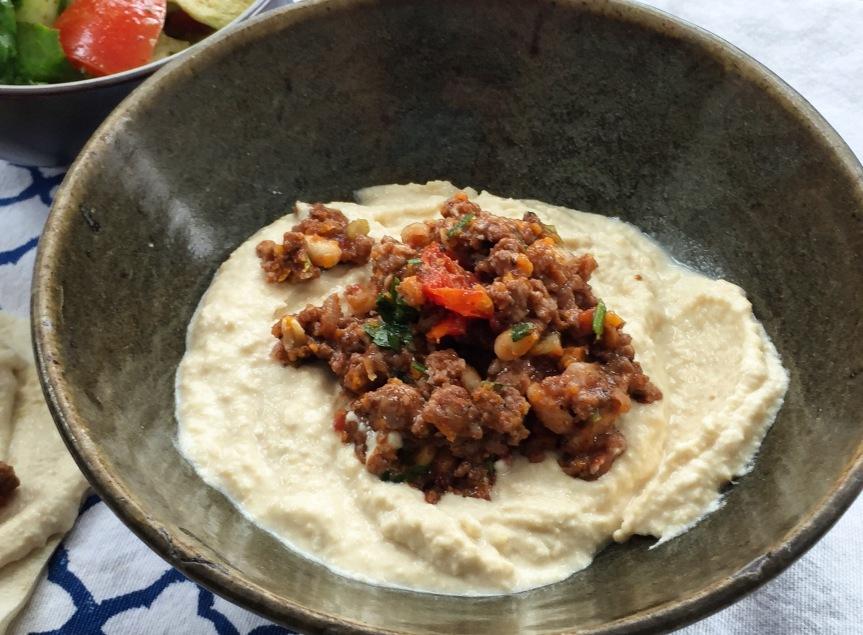 Warm Hummus & Spiced Lamb