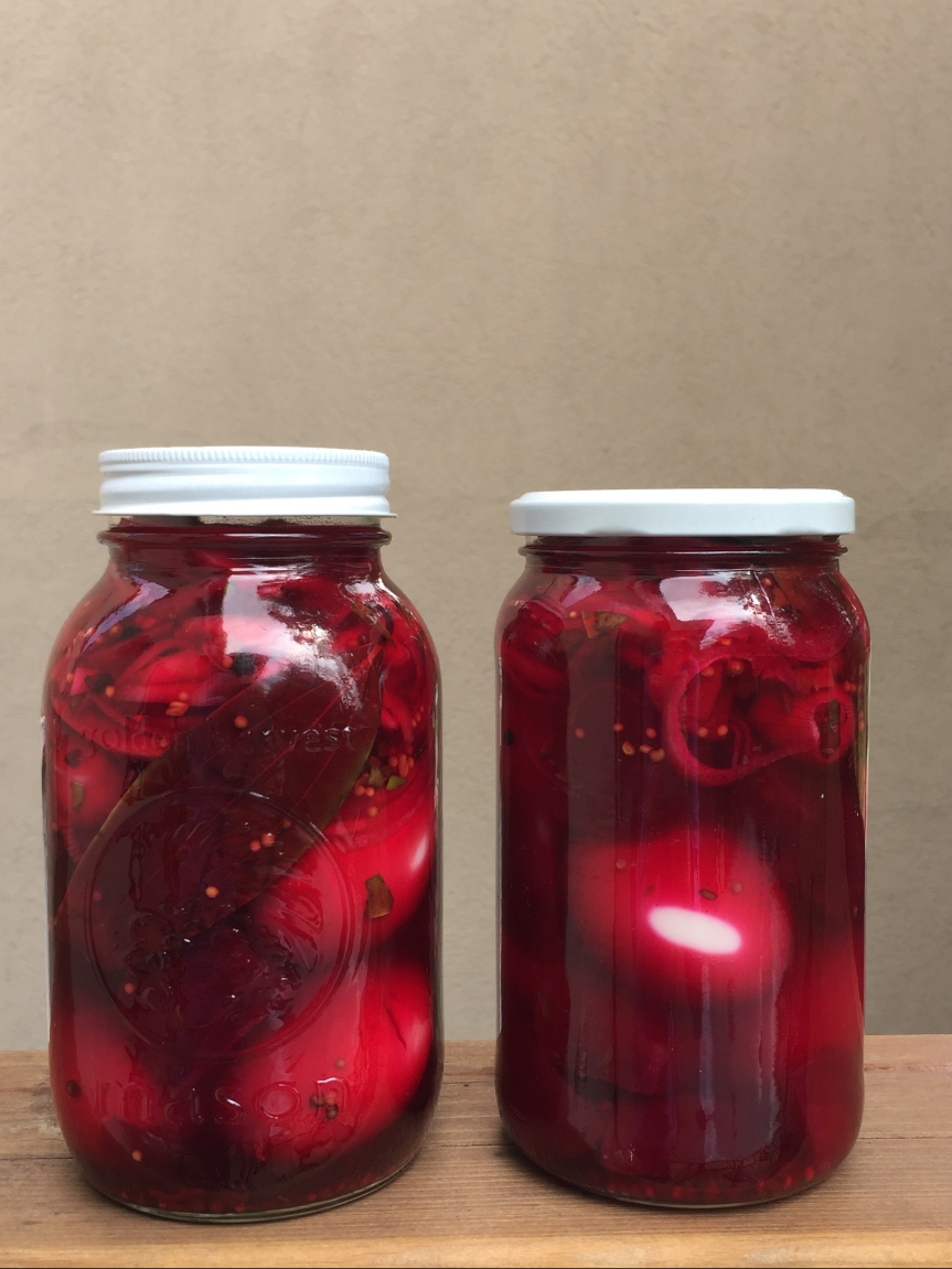 An Easter Sunday Tradition: Grandma's Pickled Beet Eggs