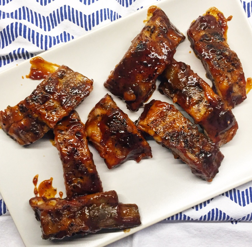 Tender, Fall Off The Bone Barbecue Ribs