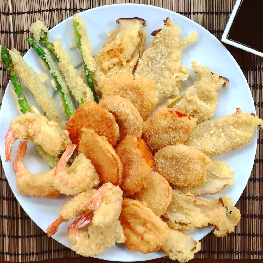 Light and Airy Japanese Tempura with Tentsuyu Dipping Sauce