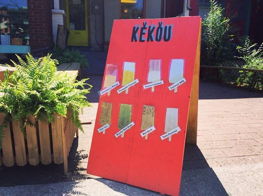 Kekou Gelato Ice Pops
