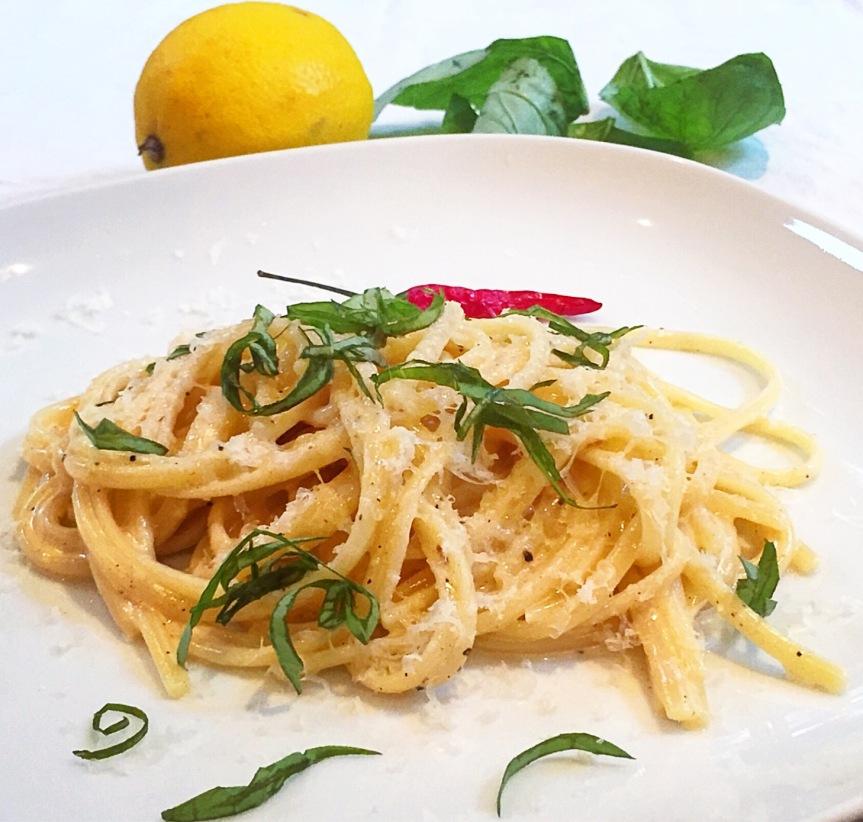 Spaghetti al Limone 2