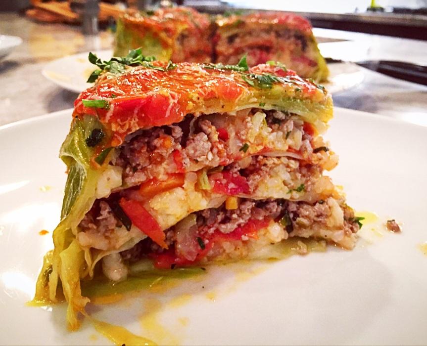 Torta di Cavolo Ripieno: A Stuffed CabbageCake
