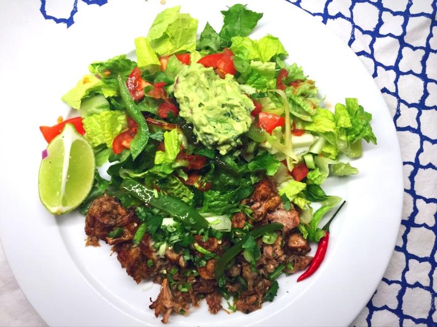 Sweet Potato Chia Pud, Borsch on Repeat and Carnitas Salad: Whole30 DaySixteen