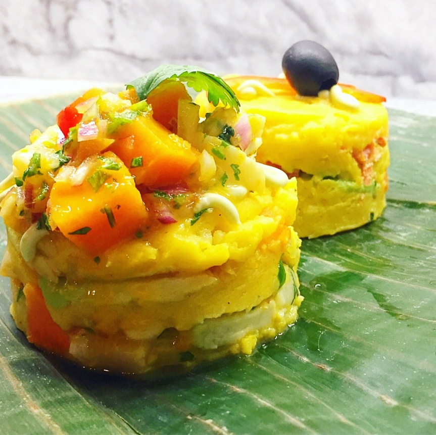 Papaya Boats On Repeat, Mulukhiyya Meets Zoodles and Causa Rellena's With Scallop Ceviche: Whole30 Day Fourteen